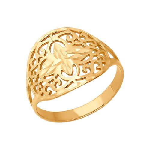 Кольцо восточное SOKOLOV из золота золотое кольцо ювелирное изделие 01k623290