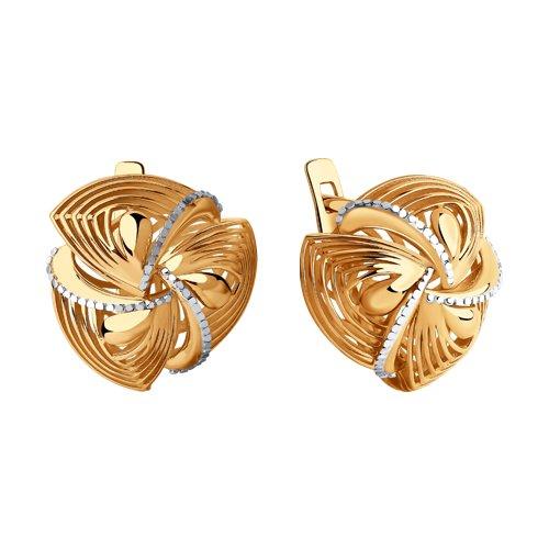 Серьги из золота (028478) - фото №2