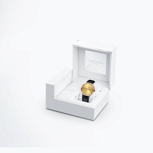 Женские золотые часы (204.01.00.000.03.01.2) - фото №4