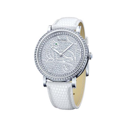 Женские серебряные часы (130.30.00.001.06.02.2) - фото