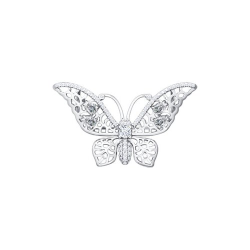 Брошь в форме бабочки 94040074