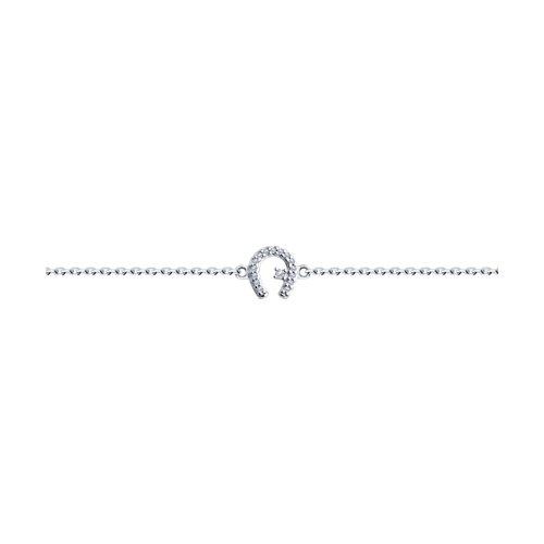 Браслет из серебра (94050595) - фото