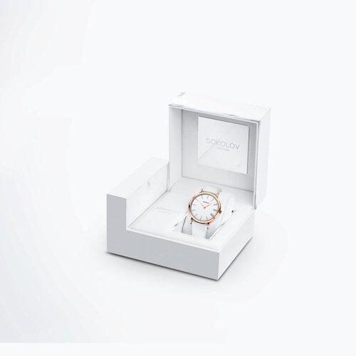 Женские золотые часы (204.01.00.000.01.02.2) - фото №4