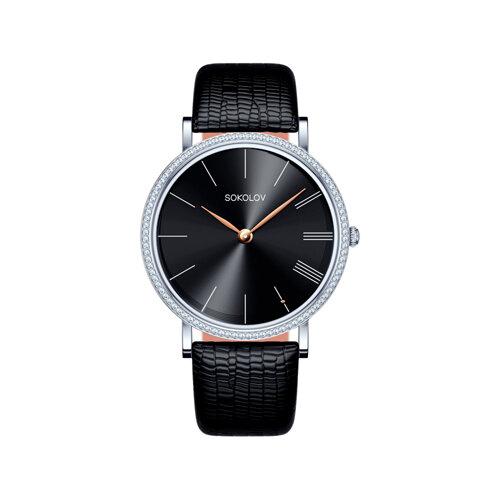 Женские серебряные часы (153.30.00.001.04.01.2) - фото №2