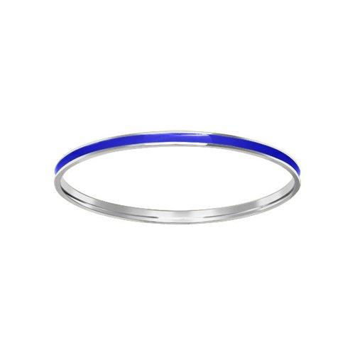 Серебряный браслет с синей эмалью SOKOLOV