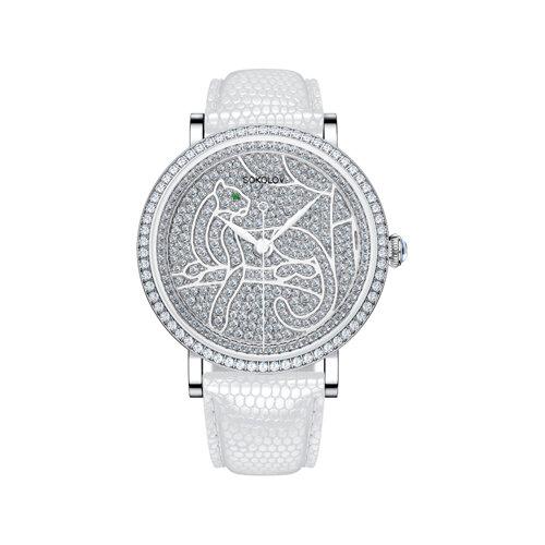 Женские серебряные часы (130.30.00.001.06.02.2) - фото №2