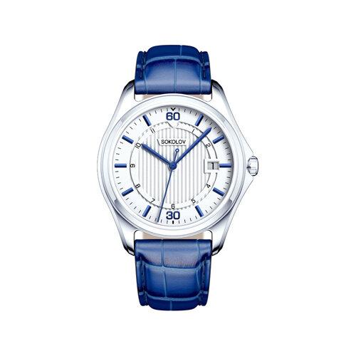 Мужские серебряные часы (135.30.00.000.05.02.3) - фото №2