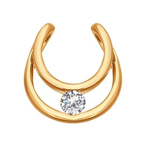 Подвеска из золота с бриллиантом
