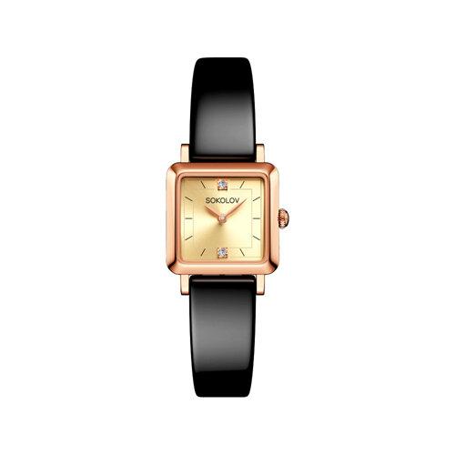 Женские золотые часы (231.01.00.000.06.04.2) - фото №2