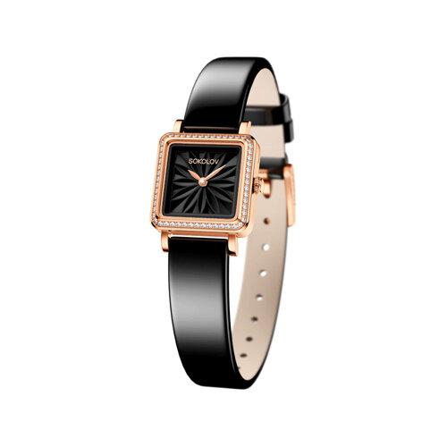 Женские золотые часы (232.01.00.001.04.04.2) - фото