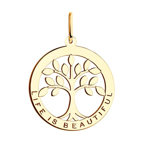 "Подвеска из золота ""Дерево жизни"""