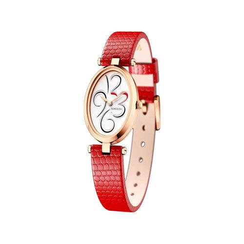 Женские золотые часы (235.01.00.000.03.03.2) - фото