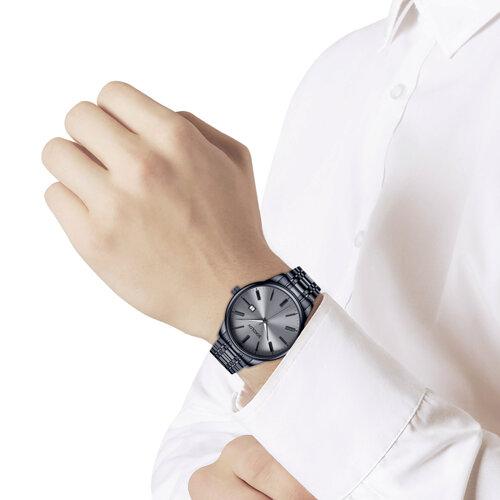 Мужские стальные часы (313.75.00.000.03.02.3) - фото №3