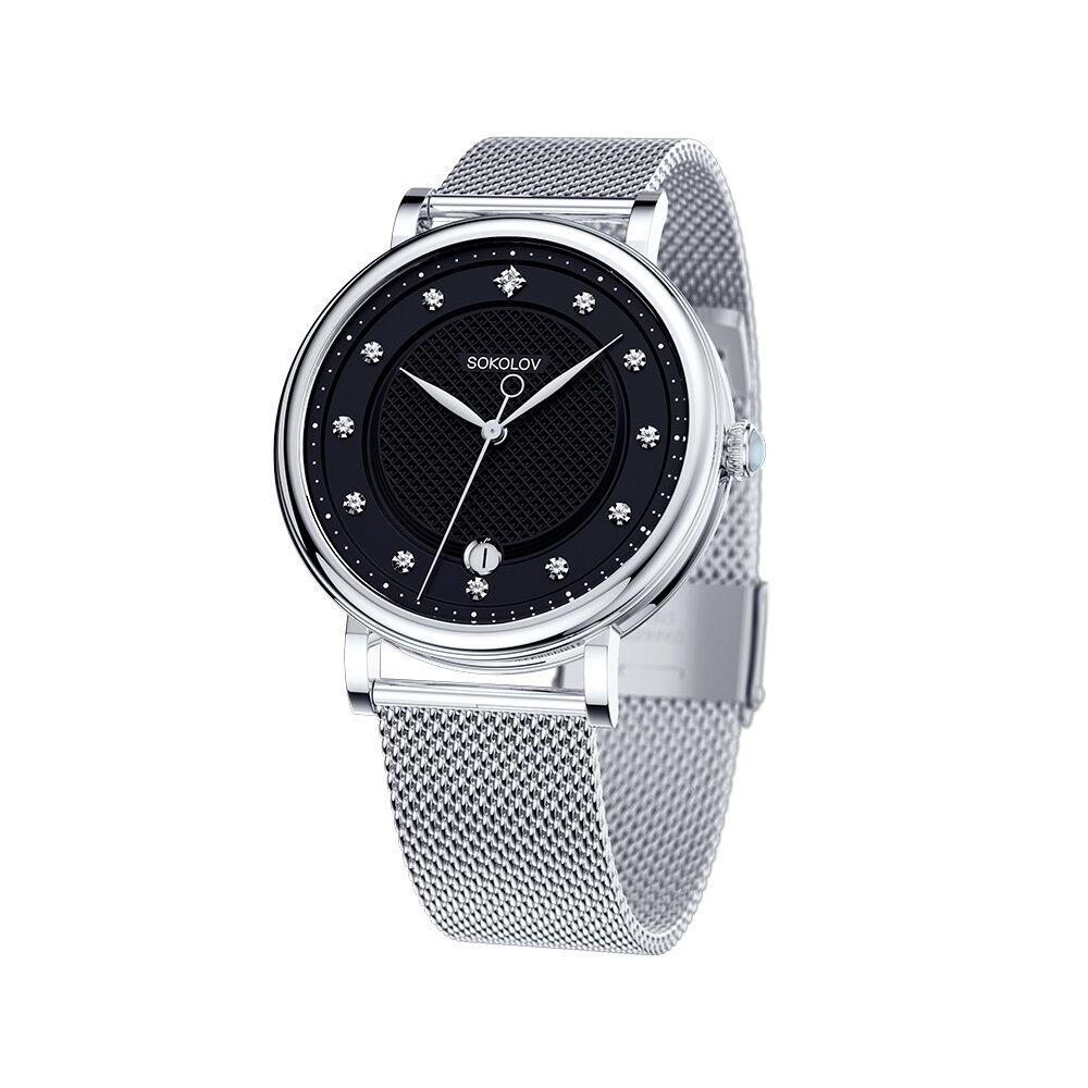 Женские стальные часы SOKOLOV женские часы sokolov 120 30 00 000 04 04 2
