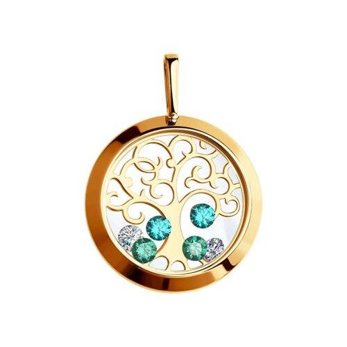 Подвеска из золота «Дерево жизни»