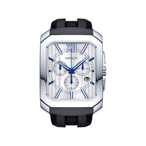 Мужские серебряные часы (144.30.00.000.01.05.3) - фото №2