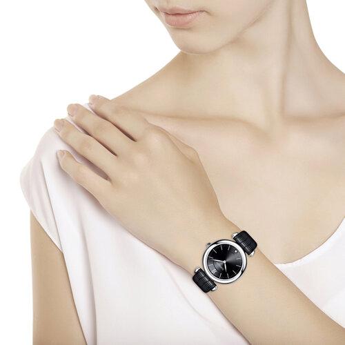 Женские серебряные часы (105.30.00.000.02.01.2) - фото №3