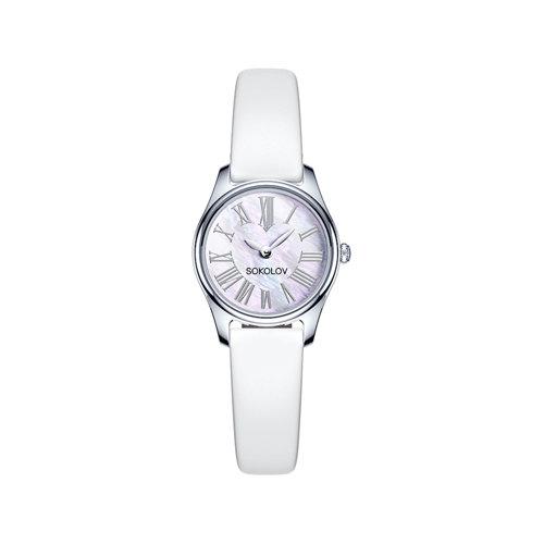 Женские серебряные часы (155.30.00.000.01.02.2) - фото №2