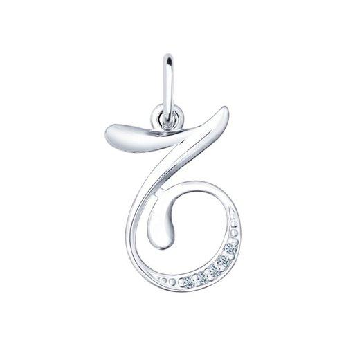Серебряная подвеска «Знак зодиака Козерог»