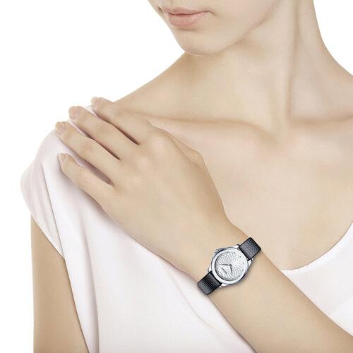 Женские серебряные часы (136.30.00.000.03.01.2) - фото №3