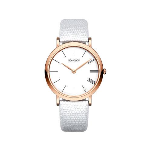 Женские золотые часы (204.01.00.000.01.02.2) - фото №2