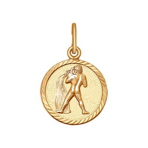 Подвеска «Знак зодиака Водолей» SOKOLOV из золота
