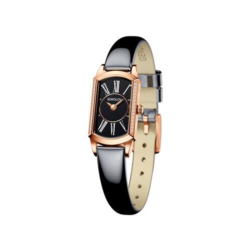 Женские золотые часы (222.01.00.001.03.05.3) - фото