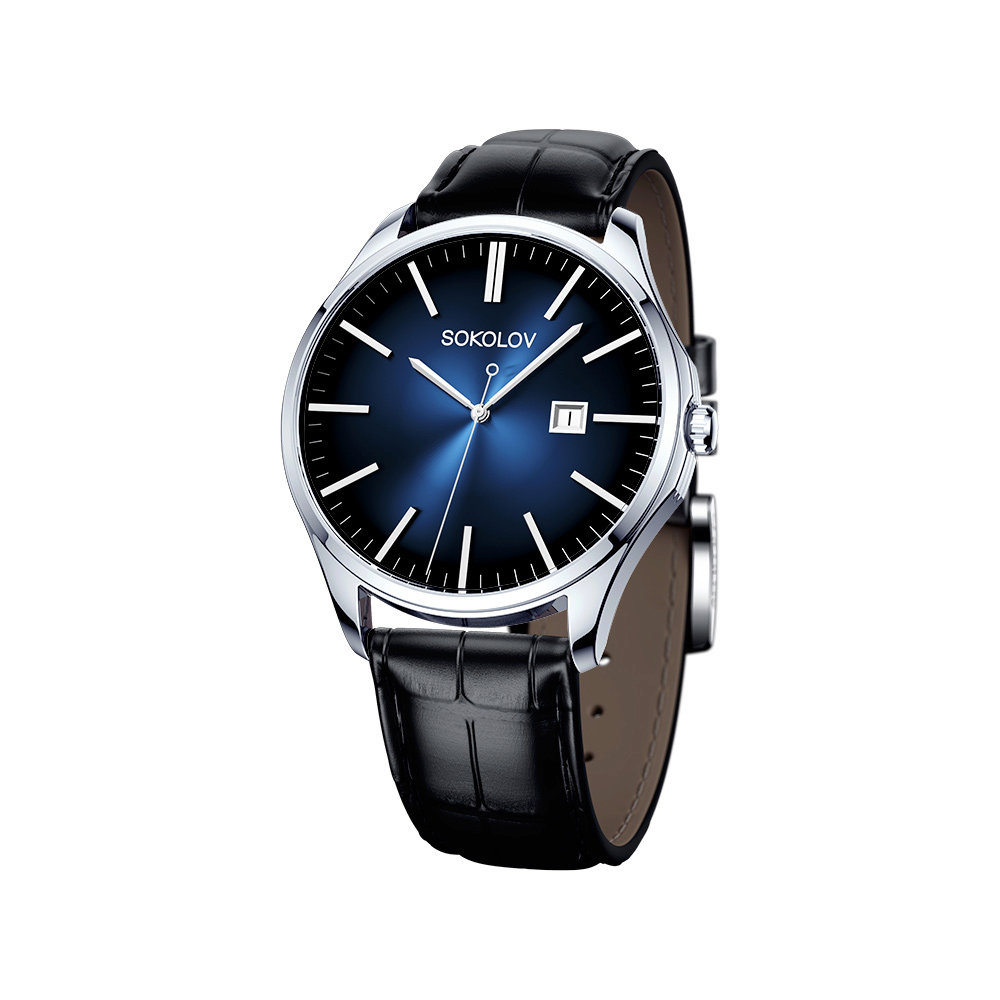 Фото - Мужские серебряные часы SOKOLOV мужские часы trussardi r2471621002