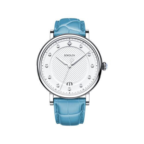 Женские серебряные часы (103.30.00.000.04.05.2) - фото №2