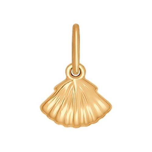 Подвеска «Раковина» из золота