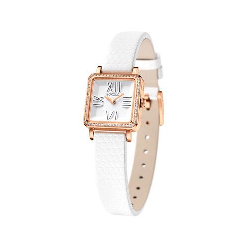 Женские золотые часы (232.01.00.001.01.02.2) - фото