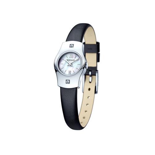 Женские серебряные часы (123.30.00.001.02.01.2) - фото