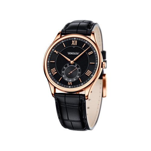 Мужские золотые часы (237.01.00.000.02.01.3) - фото