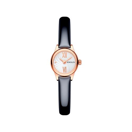 Женские золотые часы (211.01.00.000.04.05.3) - фото №2