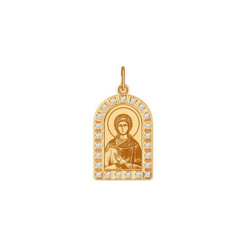 Нательная иконка «Святая мученица Любовь» SOKOLOV иконка святая мученица раиса sokolov