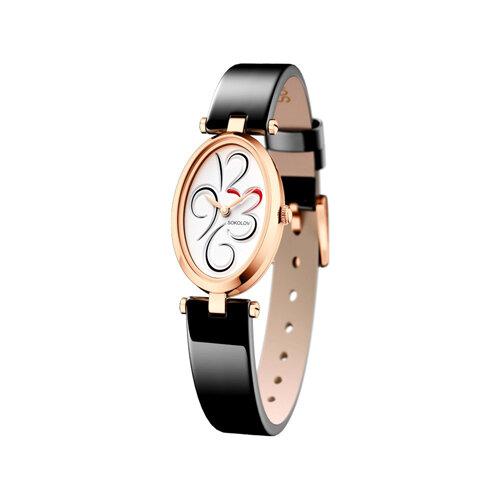 Женские золотые часы (235.01.00.000.03.04.2) - фото