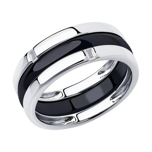 Кольцо из серебра (94014584) - фото