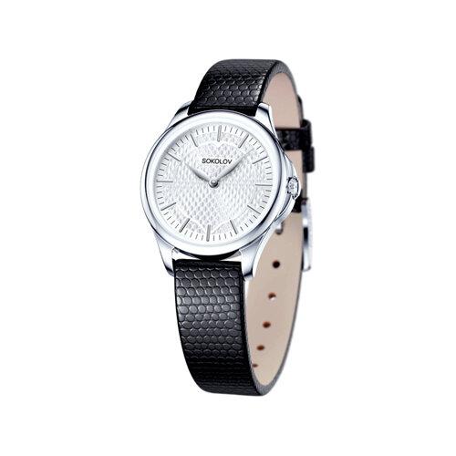 Женские серебряные часы (136.30.00.000.05.01.2) - фото