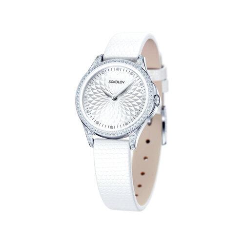 Женские серебряные часы (137.30.00.001.03.02.2) - фото