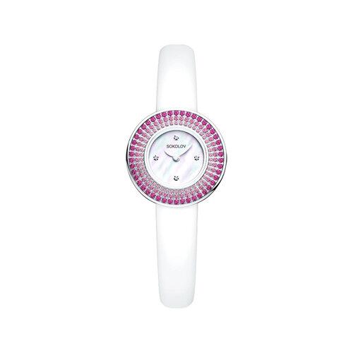Женские серебряные часы (128.30.00.006.01.02.2) - фото №2