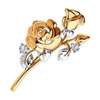 Брошь «Роза»