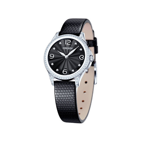 Женские серебряные часы (137.30.00.001.02.01.2) - фото