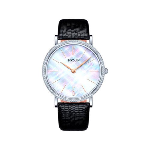 Женские серебряные часы (153.30.00.001.06.01.2) - фото №2