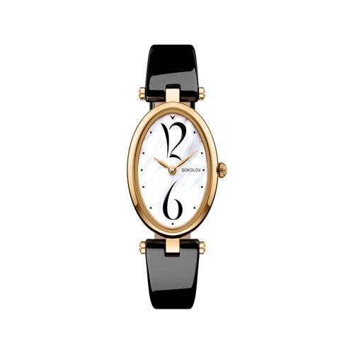 Женские золотые часы (235.02.00.000.05.04.2) - фото №2