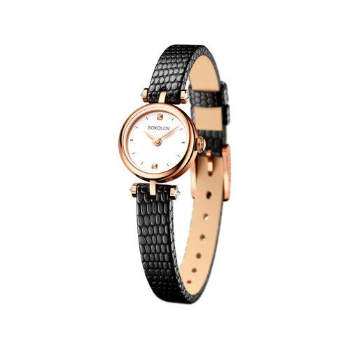 Женские золотые часы (215.01.00.000.01.01.2) - фото