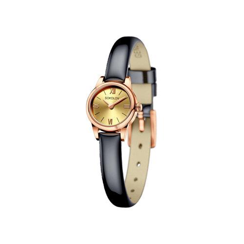 Женские золотые часы (211.01.00.000.02.05.3) - фото