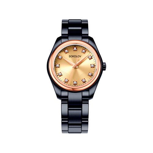 Женские часы из золота и стали Black Edition (140.01.72.000.03.01.2) - фото №2
