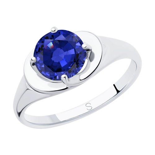 Кольцо из серебра (94012826) - фото