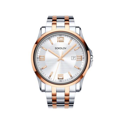 Мужские стальные часы (301.76.00.000.04.02.3) - фото №2