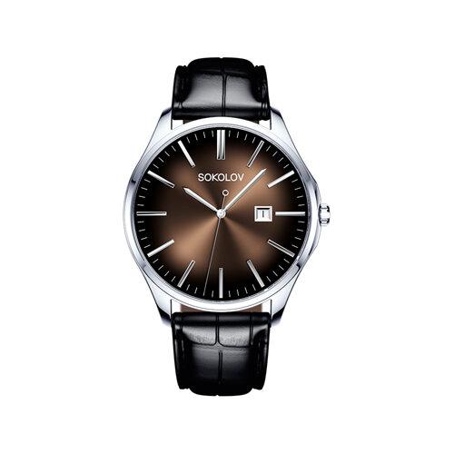 Мужские серебряные часы (154.30.00.000.05.01.3) - фото №2